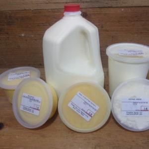 Grass-fed Raw Dairy